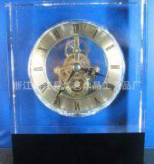 Đồng hồ để bàn thủy tinh 03