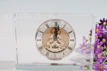 Đồng hồ để bàn thủy tinh 05