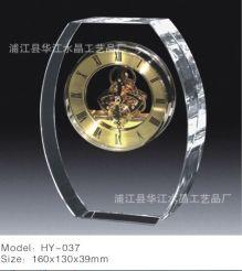 Đồng hồ để bàn thủy tinh 06