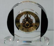 Đồng hồ để bàn thủy tinh 07