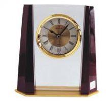 Đồng hồ để bàn thủy tinh 09