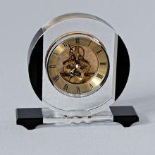 Đồng hồ để bàn thủy tinh 12