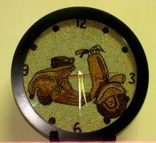 Đồng hồ treo tường kim loại 07