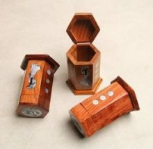 Hộp tăm gỗ 01